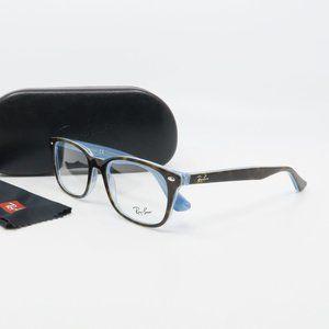 RB5375 5883 Ray-Ban Havana/ Blue Unisex Glasses